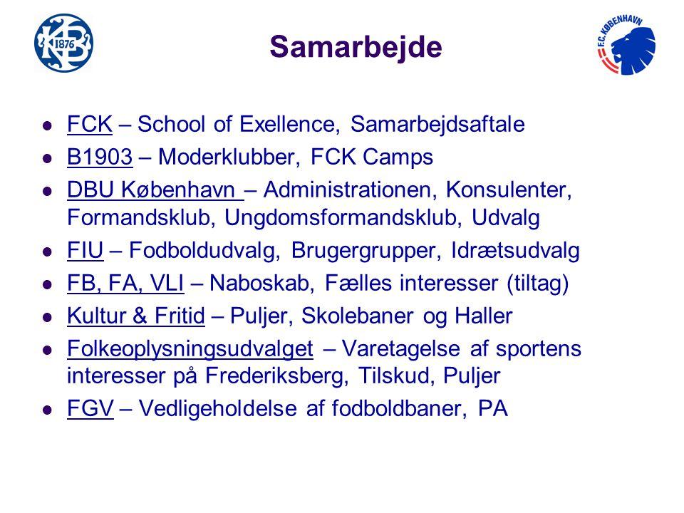 Samarbejde FCK – School of Exellence, Samarbejdsaftale