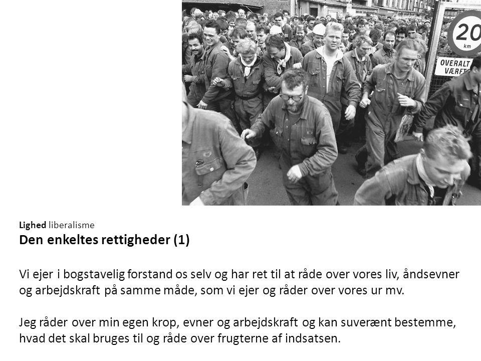 Den enkeltes rettigheder (1)