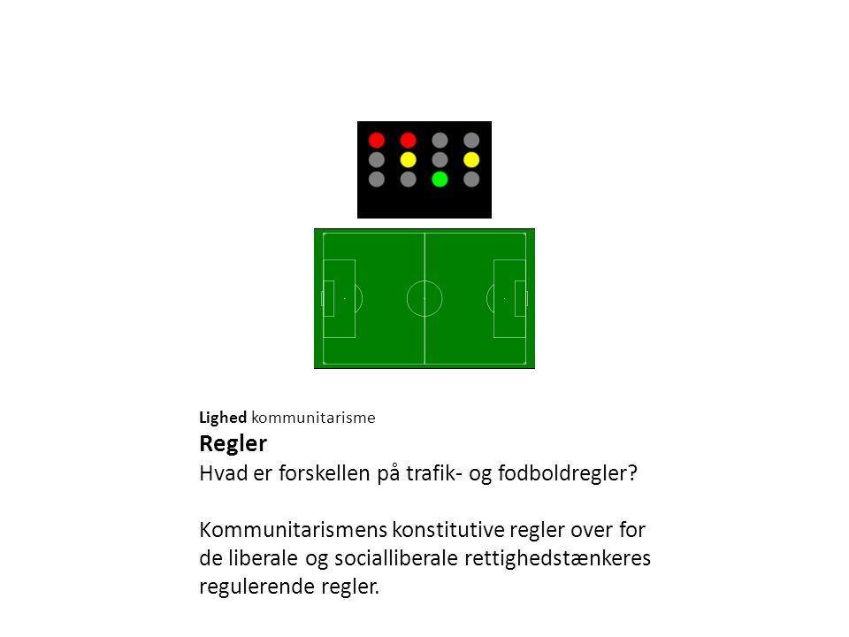 Regler Hvad er forskellen på trafik- og fodboldregler