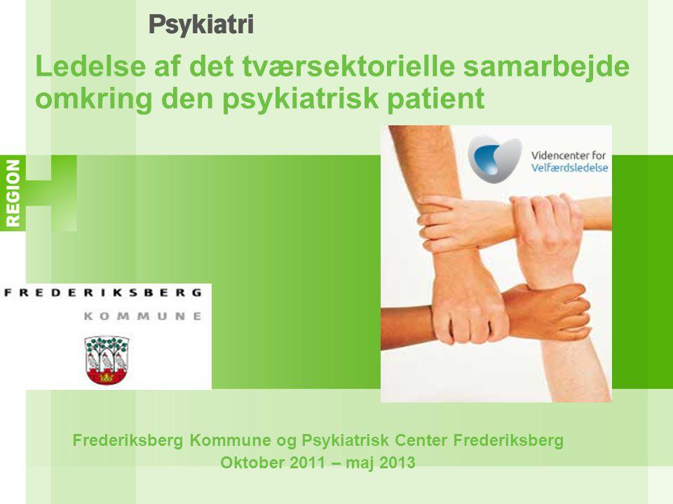 Frederiksberg Kommune og Psykiatrisk Center Frederiksberg