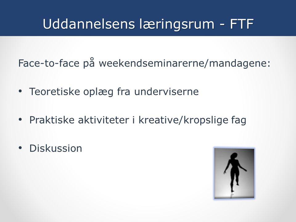 Uddannelsens læringsrum - FTF