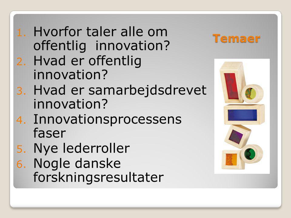 Hvorfor taler alle om offentlig innovation