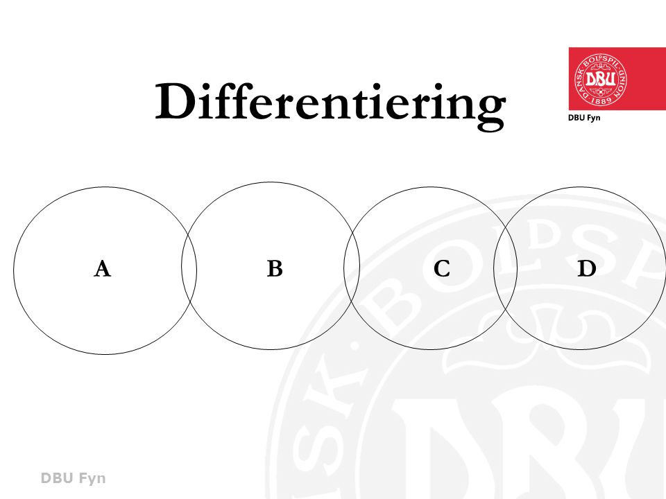 Differentiering A B C D 7