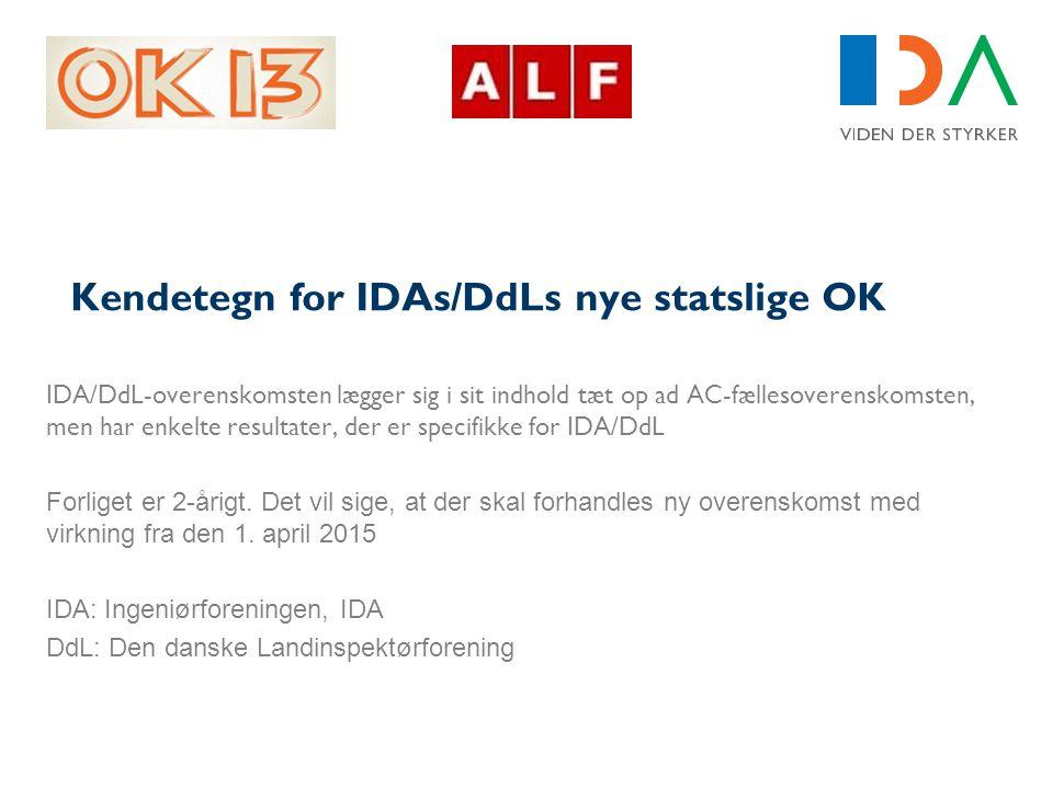 Kendetegn for IDAs/DdLs nye statslige OK