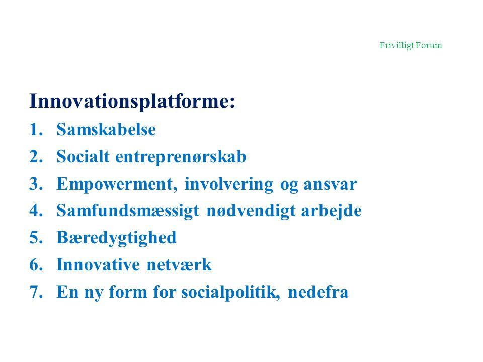 Innovationsplatforme: