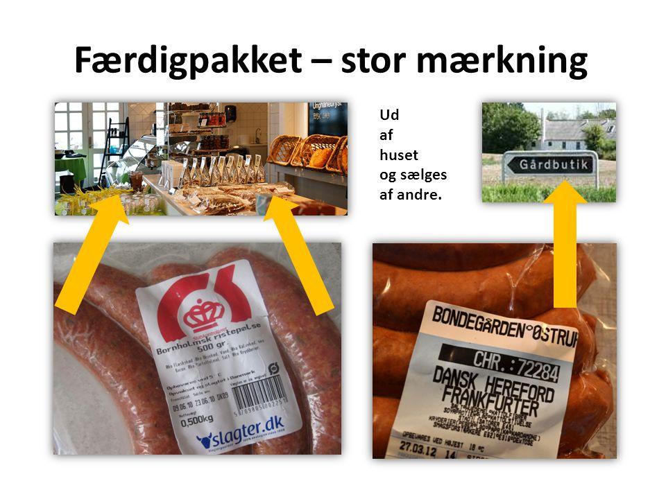 Færdigpakket – stor mærkning