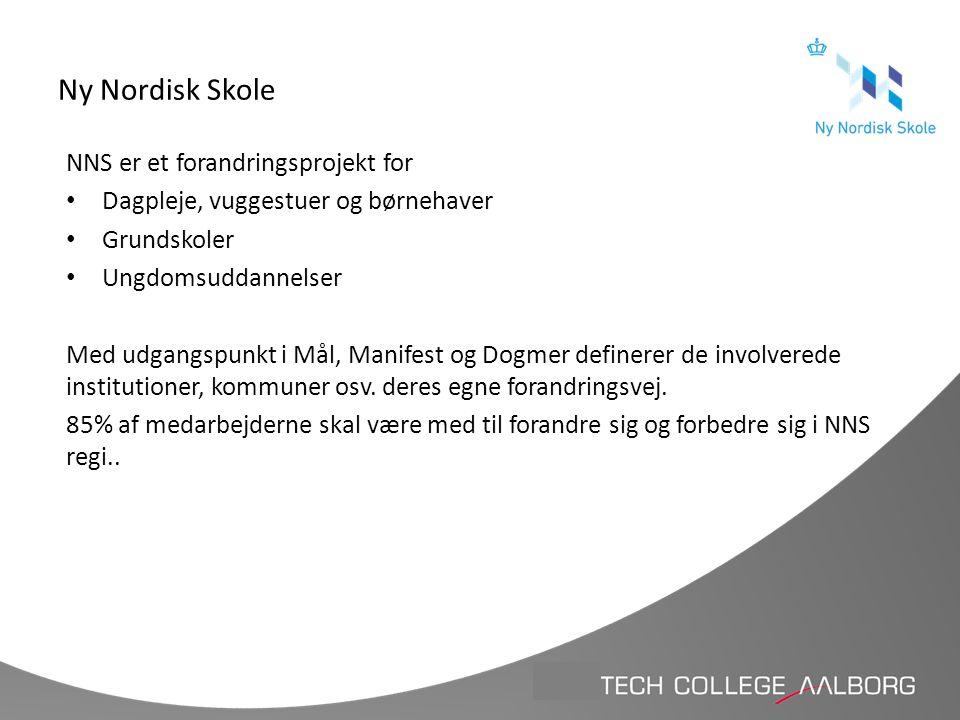 Ny Nordisk Skole NNS er et forandringsprojekt for