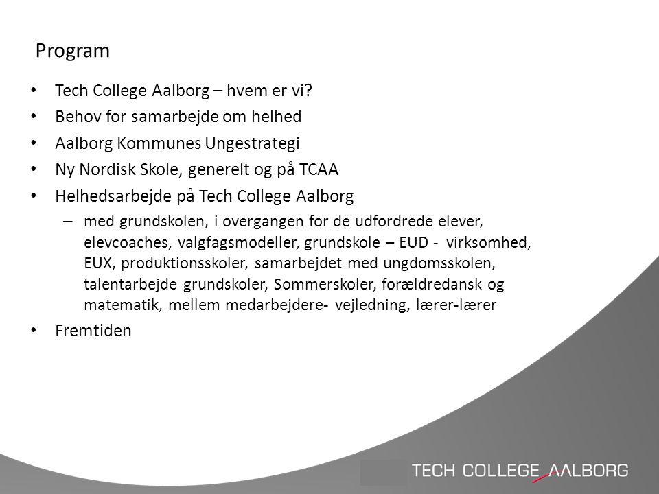 Program Tech College Aalborg – hvem er vi