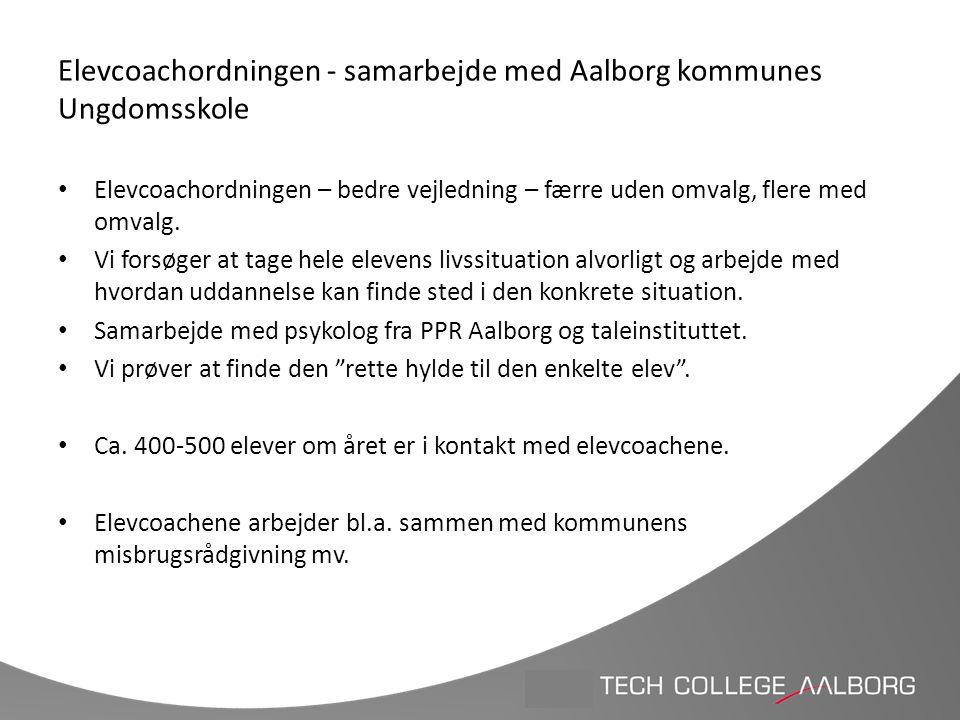 Elevcoachordningen - samarbejde med Aalborg kommunes Ungdomsskole