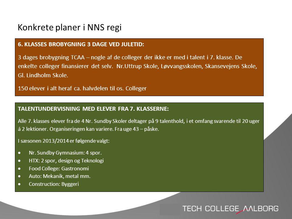 Konkrete planer i NNS regi