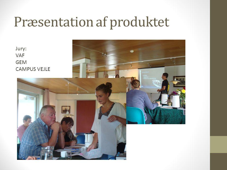 Præsentation af produktet