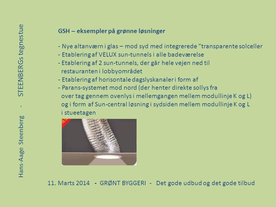 GSH – eksempler på grønne løsninger