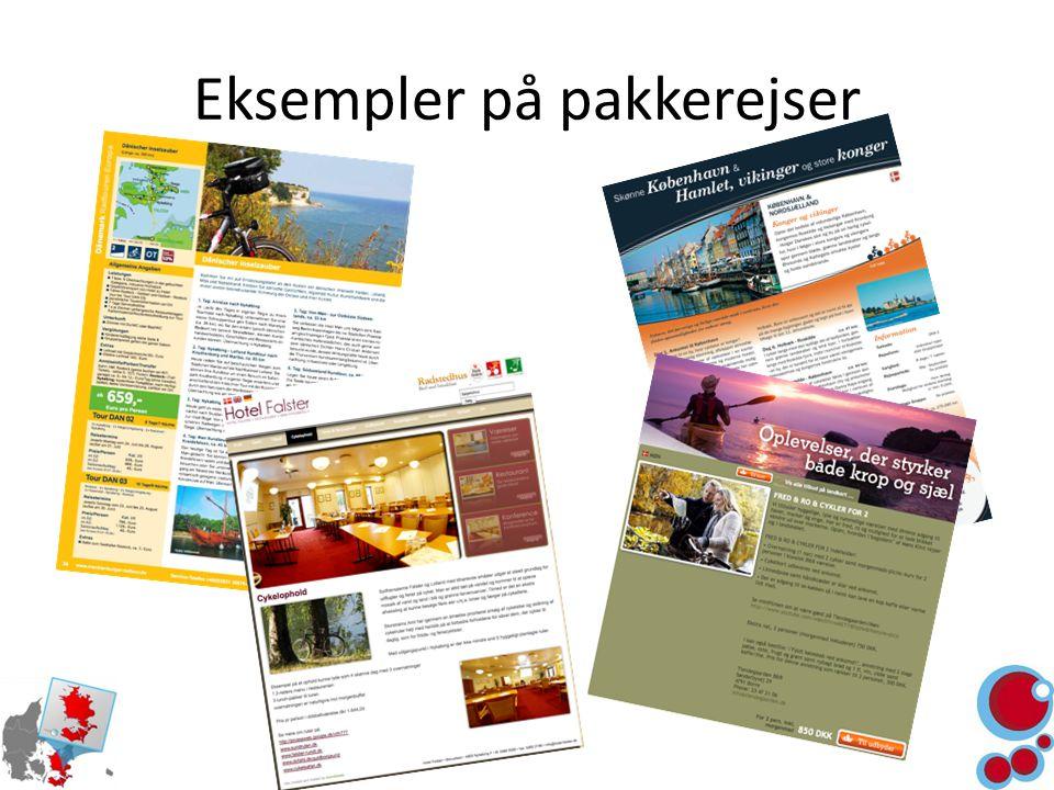 Eksempler på pakkerejser