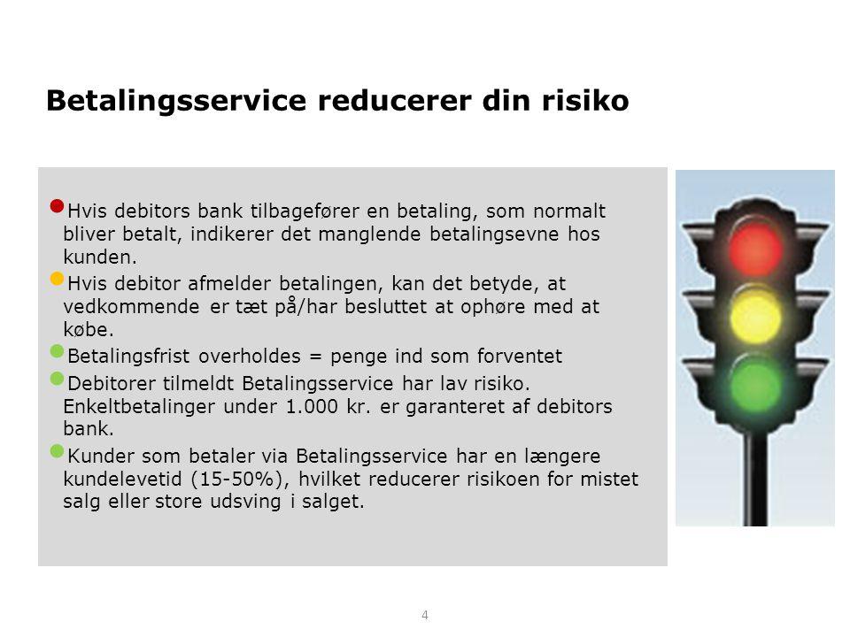 Betalingsservice reducerer din risiko