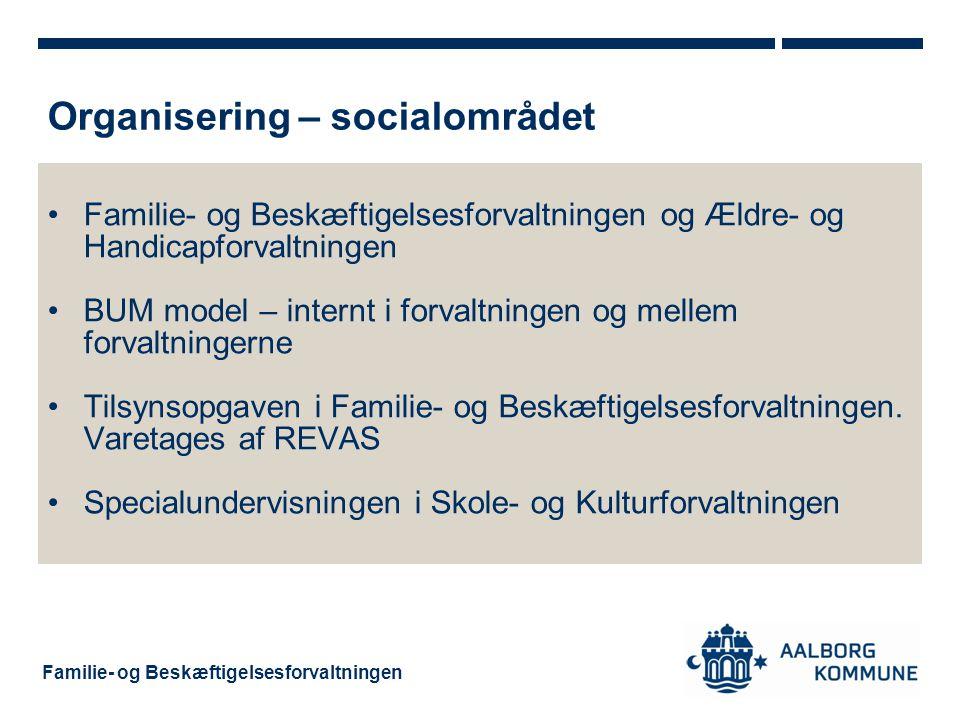 Organisering – socialområdet