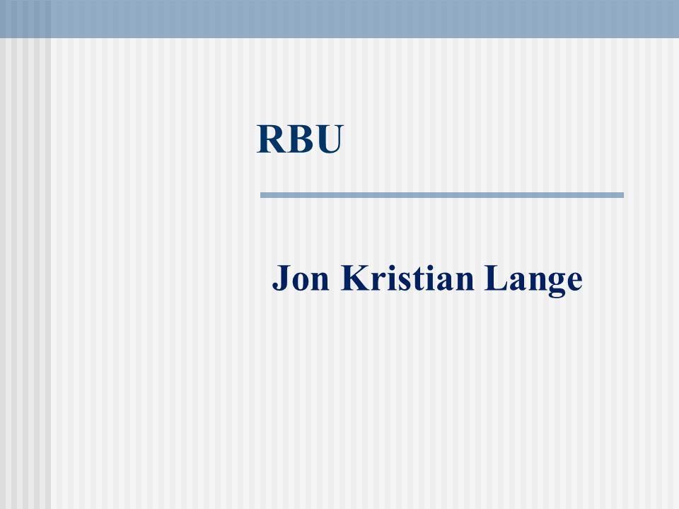 RBU Jon Kristian Lange
