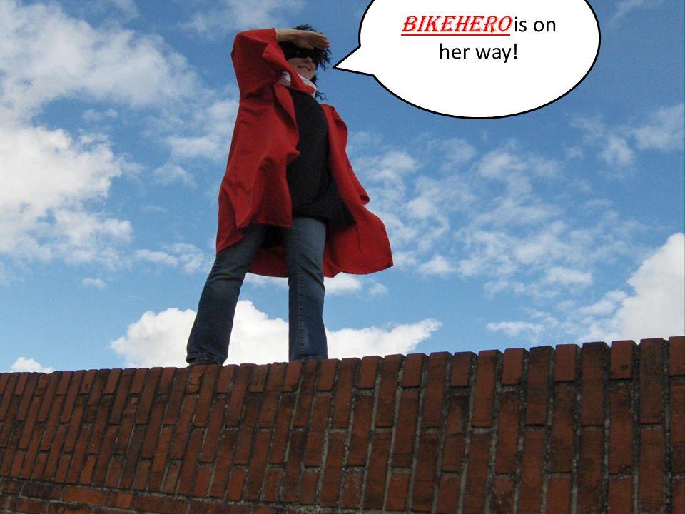 BIKEHERO is on her way!