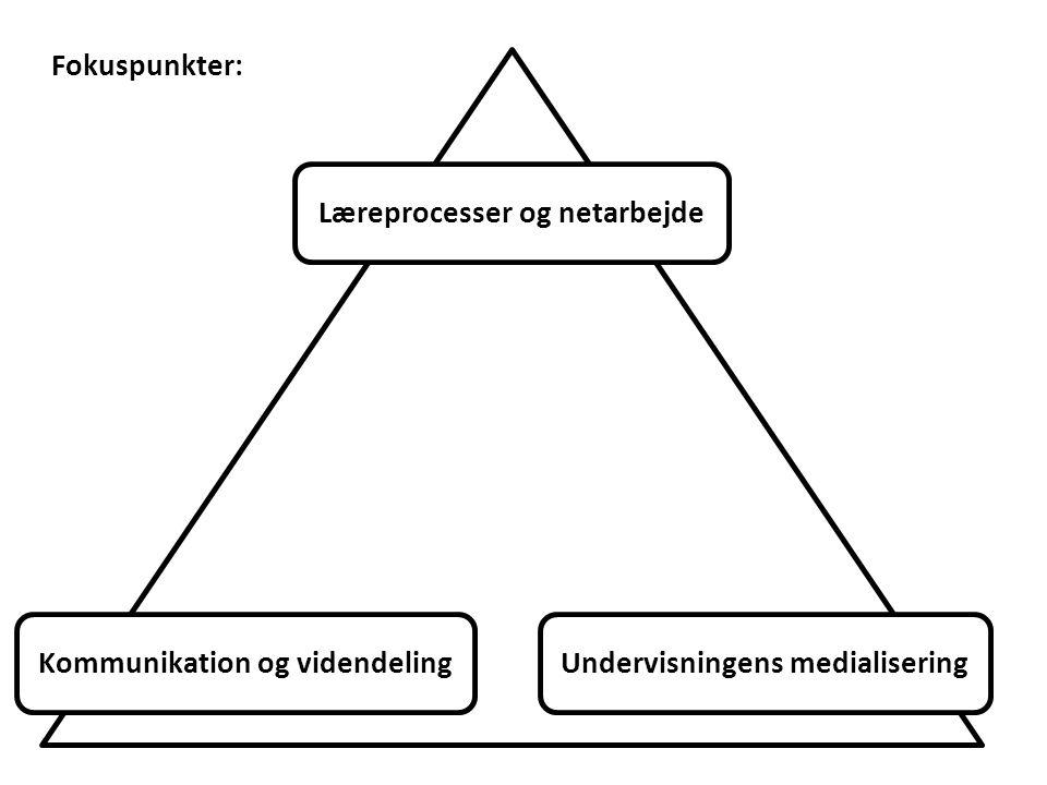 Læreprocesser og netarbejde