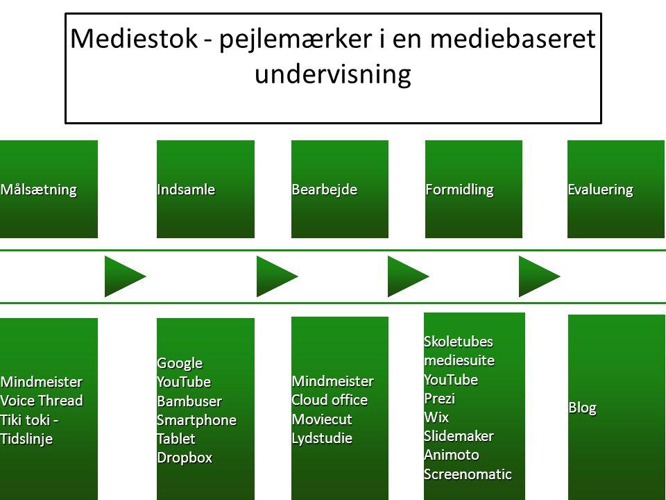 Mediestok - pejlemærker i en mediebaseret undervisning