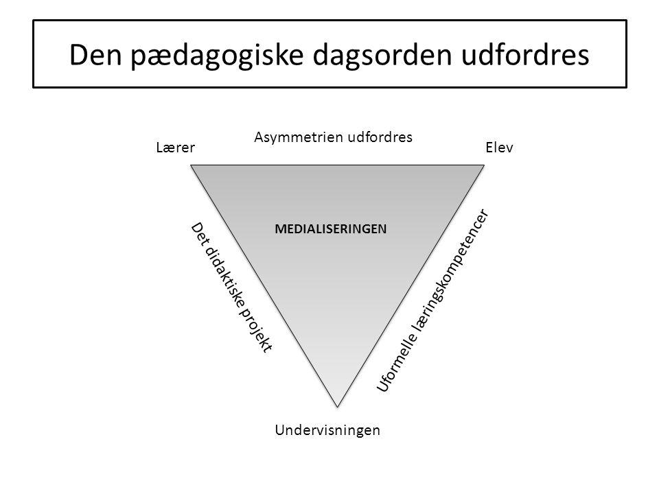 Den pædagogiske dagsorden udfordres