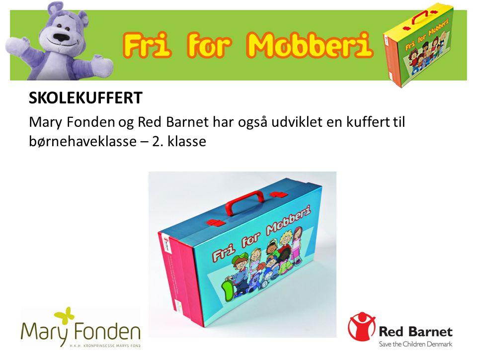 SKOLEKUFFERT Mary Fonden og Red Barnet har også udviklet en kuffert til børnehaveklasse – 2. klasse