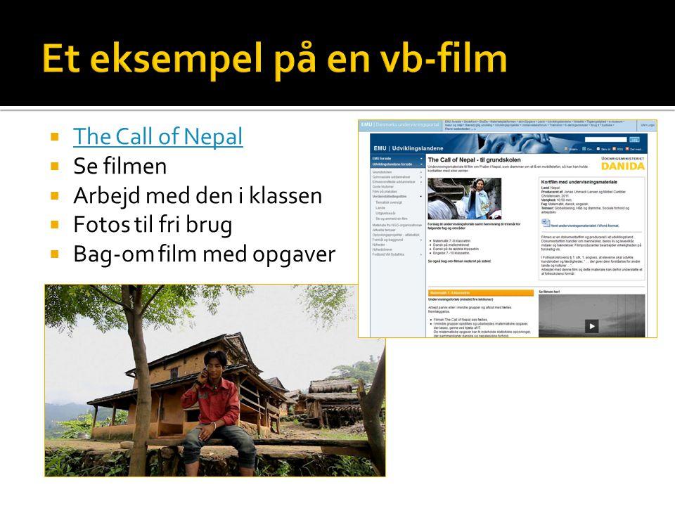 Et eksempel på en vb-film