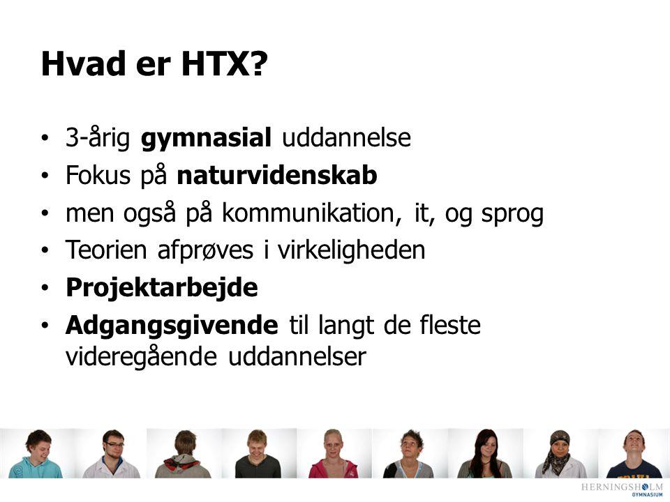 Hvad er HTX 3-årig gymnasial uddannelse Fokus på naturvidenskab