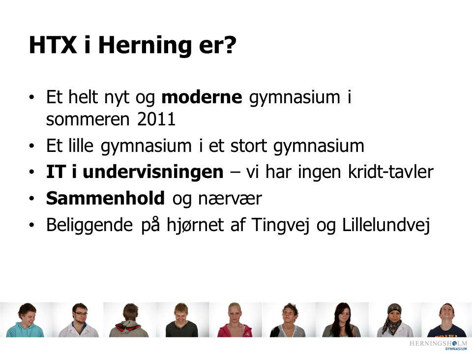HTX i Herning er Et helt nyt og moderne gymnasium i sommeren 2011