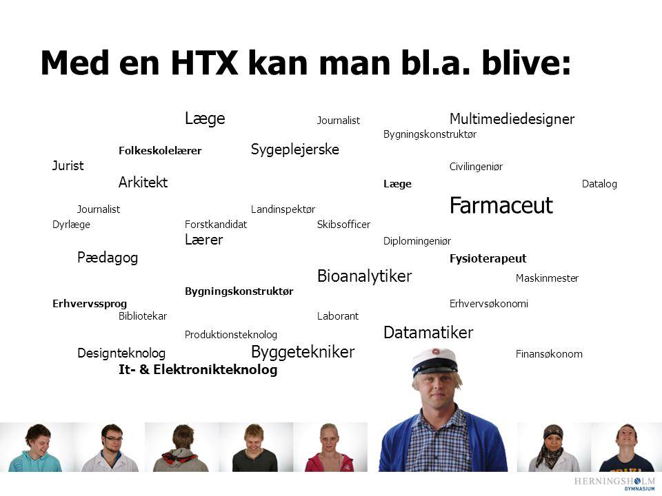 Med en HTX kan man bl.a. blive: