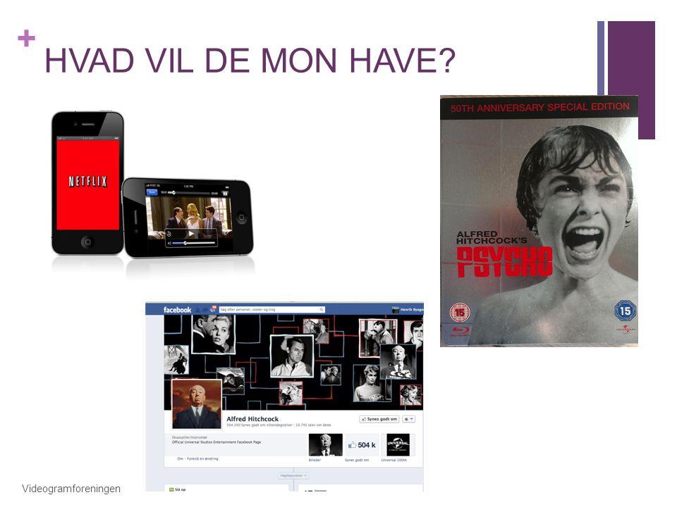 HVAD VIL DE MON HAVE Videogramforeningen