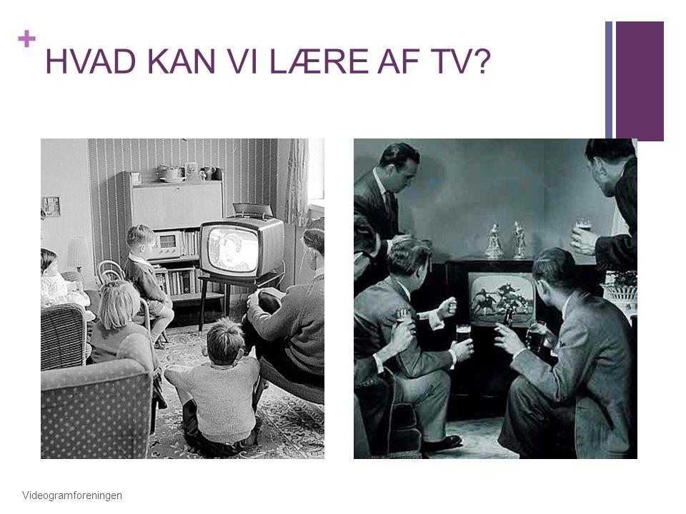 HVAD KAN VI LÆRE AF TV Videogramforeningen