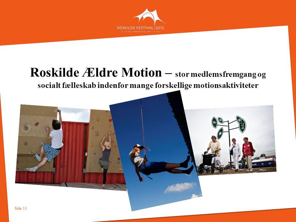 Roskilde Ældre Motion – stor medlemsfremgang og socialt fælleskab indenfor mange forskellige motionsaktiviteter