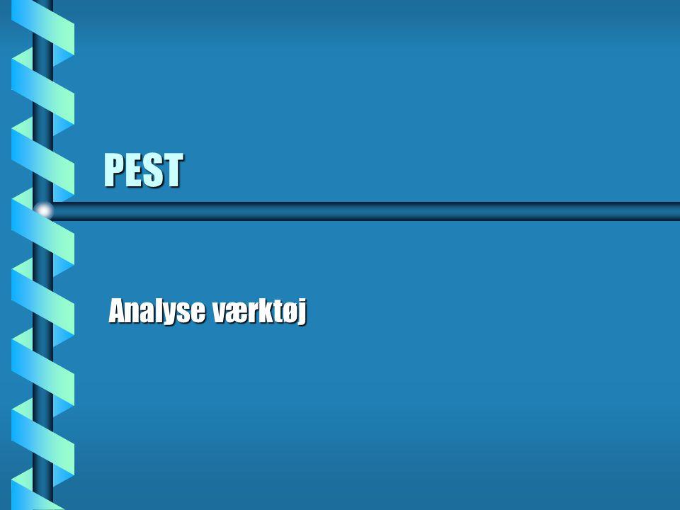 PEST Analyse værktøj