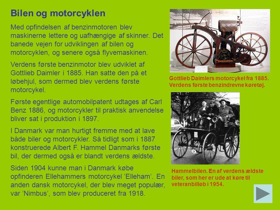 Bilen og motorcyklen