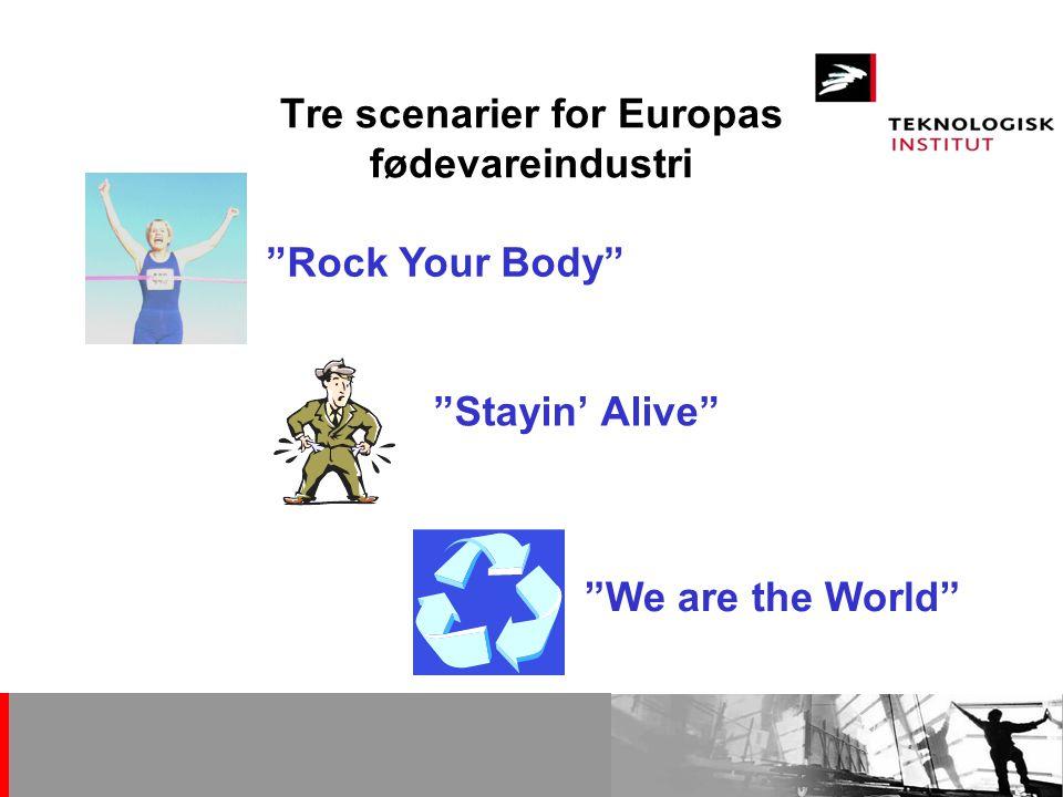 Tre scenarier for Europas fødevareindustri