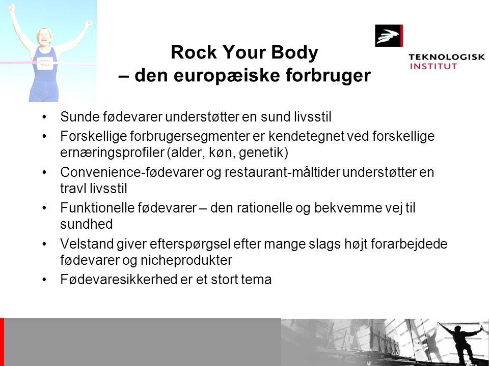 Rock Your Body – den europæiske forbruger