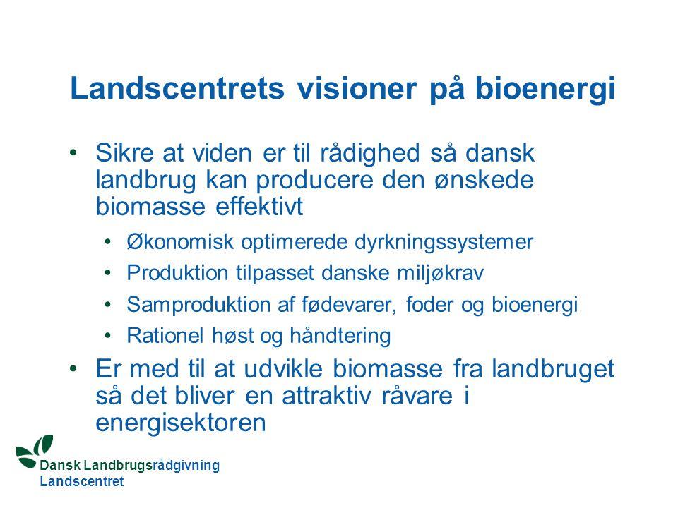 Landscentrets visioner på bioenergi