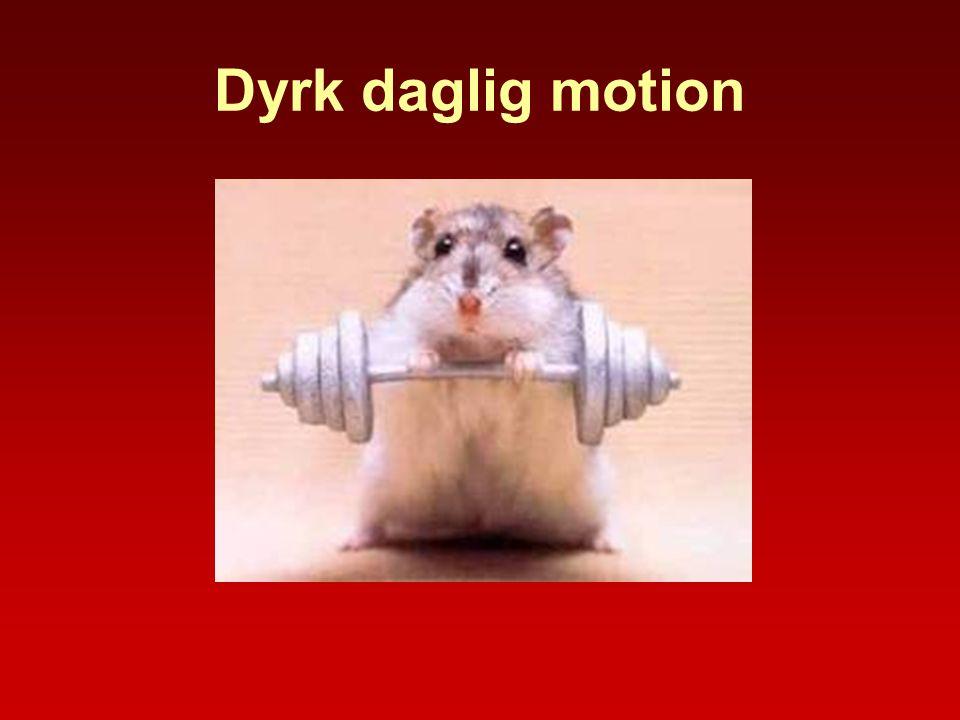 Dyrk daglig motion