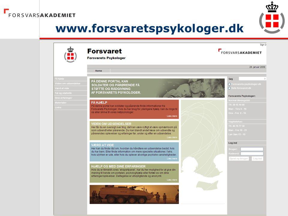 www.forsvaretspsykologer.dk