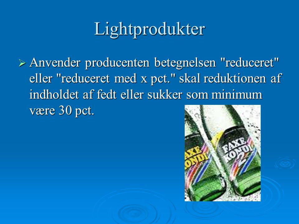 Lightprodukter