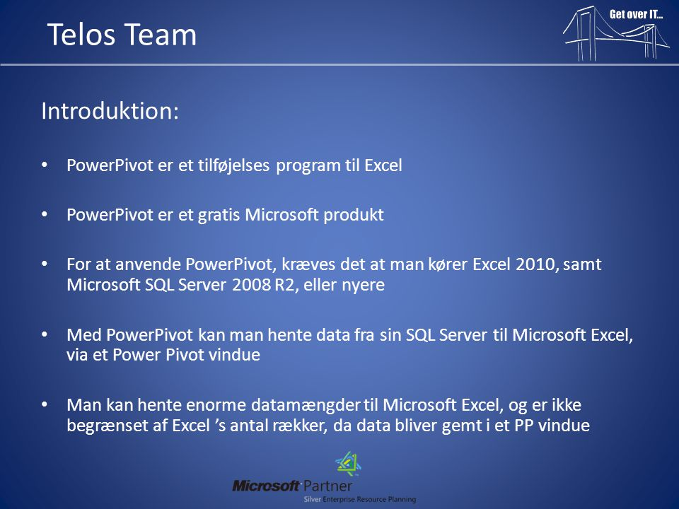 Telos Team Introduktion: