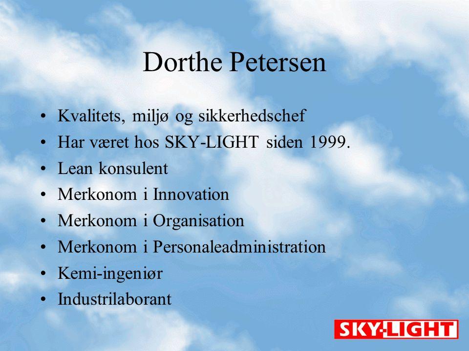 Dorthe Petersen Kvalitets, miljø og sikkerhedschef