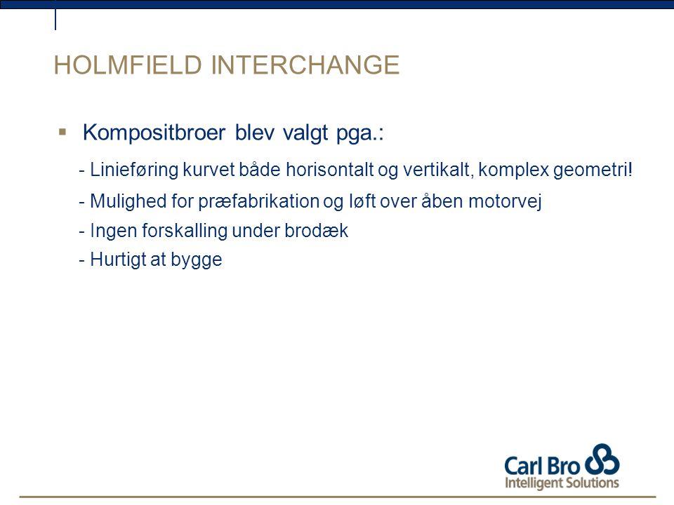 HOLMFIELD INTERCHANGE