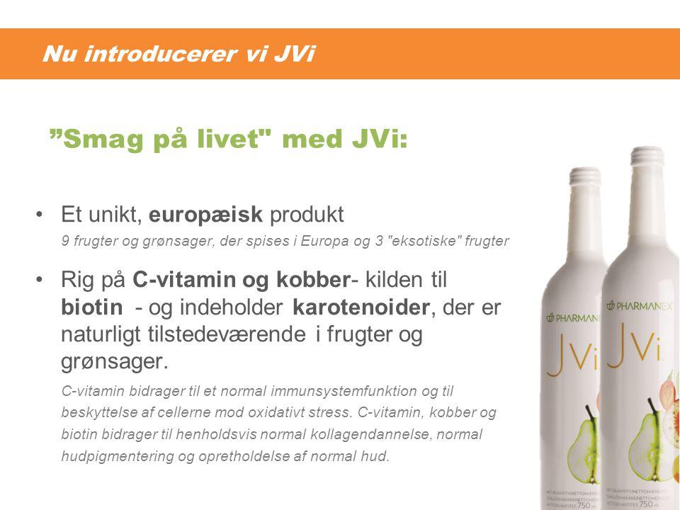 Smag på livet med JVi: Nu introducerer vi JVi