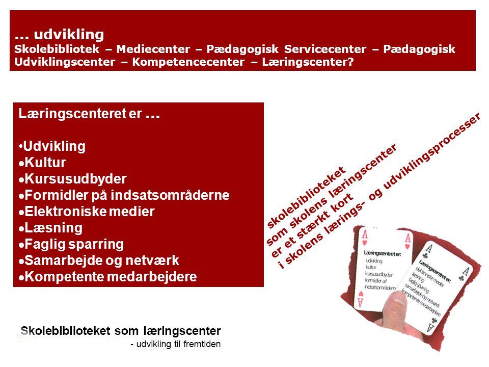 Formidler på indsatsområderne Elektroniske medier Læsning