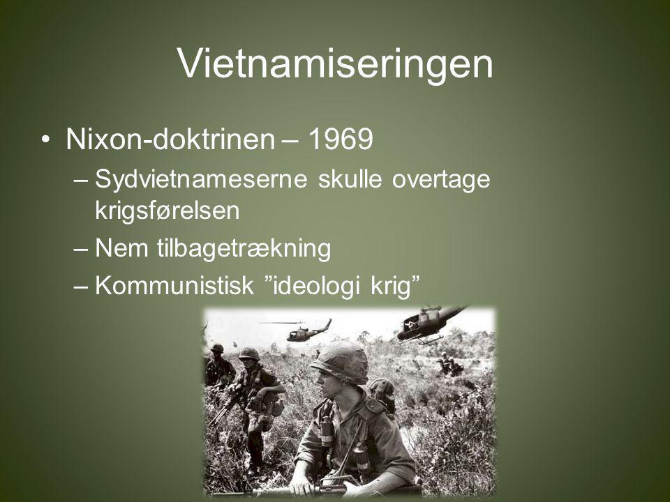 vietnamkrigens betydning for den kolde krig
