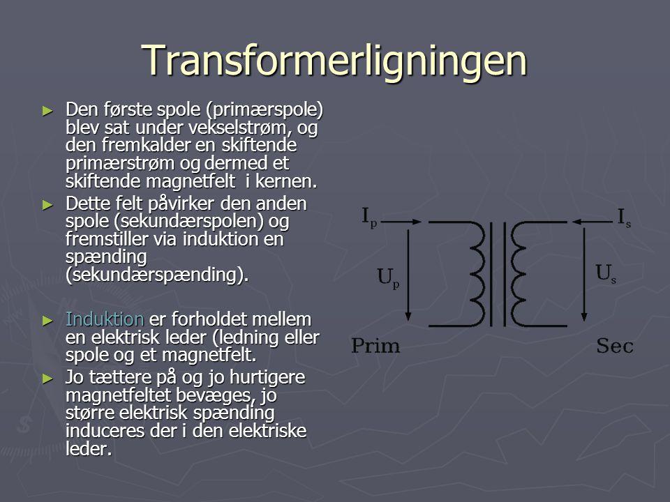 Transformerligningen