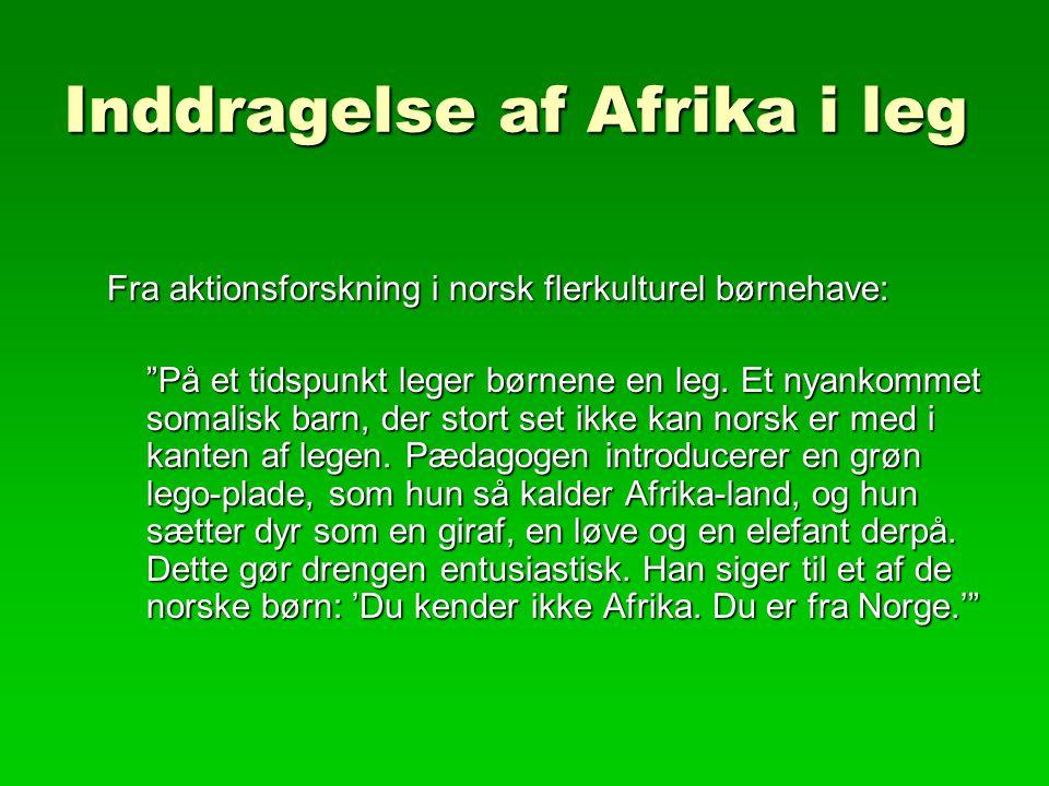Inddragelse af Afrika i leg