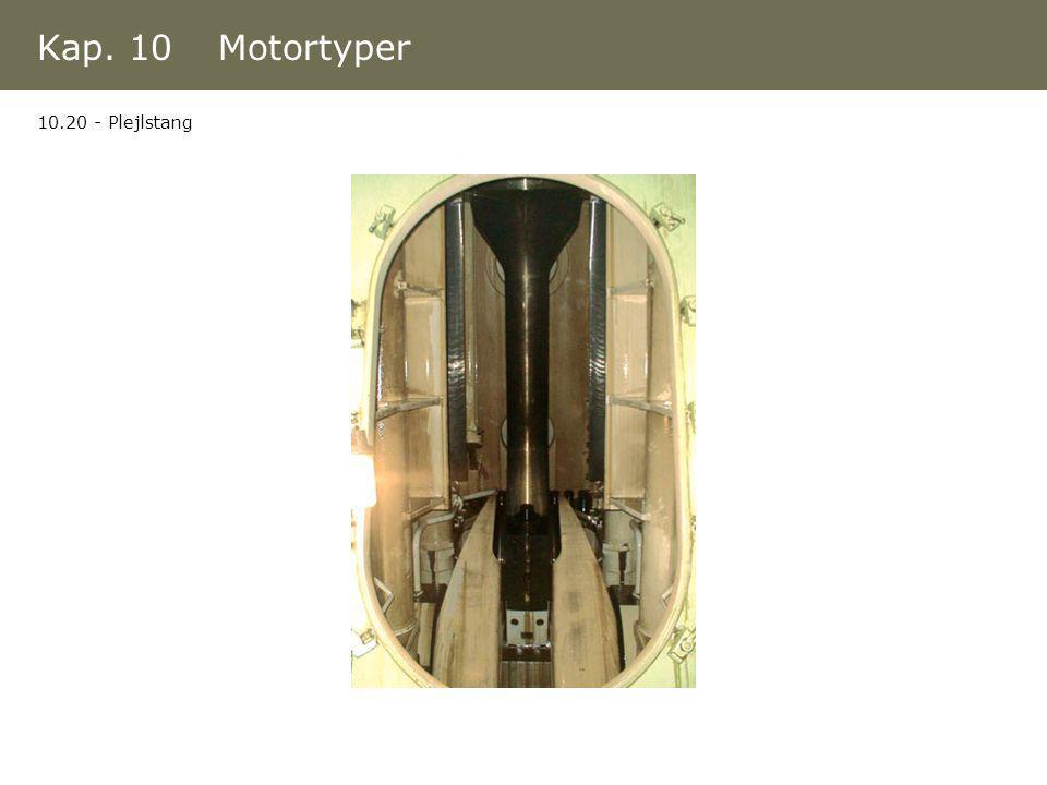 Kap. 10 Motortyper 10.20 - Plejlstang