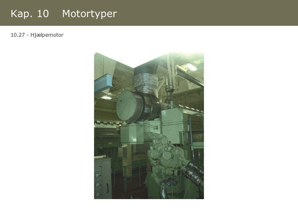 Kap. 10 Motortyper 10.27 - Hjælpemotor